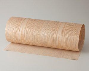ツキ板 シート【タモ板目】0.4ミリ厚*450*1800:Mサイズ[Quickタイプ](和紙貼り/粘着付き)