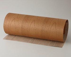ツキ板 シート【チーク板目】0.4ミリ厚*450*1800:Mサイズ[Quickタイプ](和紙貼り/粘着付き)