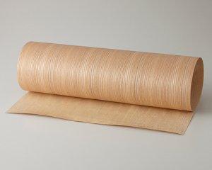 ツキ板 シート【ニレ柾目】0.4ミリ厚*450*1800:Mサイズ[Quickタイプ](和紙貼り/粘着付き)
