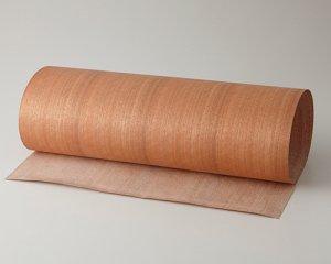 ツキ板 シート【ニヤト柾目】0.4ミリ厚*450*1800:Mサイズ[Quickタイプ](和紙貼り/粘着付き)