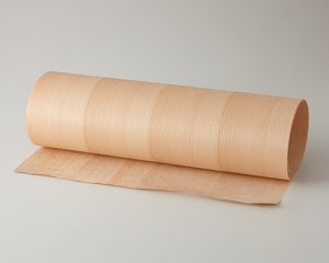 ツキ板 シート【ブナ柾目】0.4ミリ厚*450*1800:Mサイズ[Quick](和紙貼り/粘着付き)