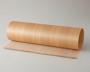 ツキ板 シート【ベイスギ柾目】)0.4ミリ厚*450*1800:Mサイズ[Quick](和紙貼り/粘着付き)