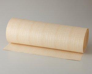 ツキ板 シート【Wアッシュ柾目】0.4ミリ厚*450*1800:Mサイズ[Quick](和紙貼り/粘着付き)