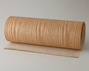 ツキ板 シート【オーク板目】0.4ミリ厚*450*1800:Mサイズ[Quick](和紙貼り/粘着付き)