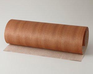 ツキ板 シート【マコレ柾目】0.4ミリ厚*450*1800:Mサイズ[Quick](和紙貼り/粘着付き)