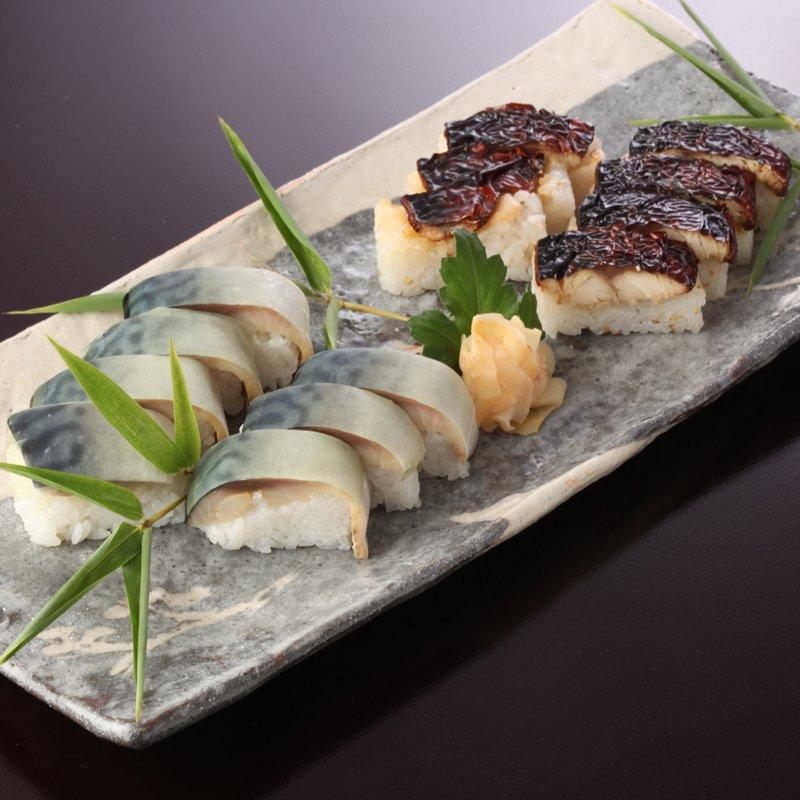 焼鯖寿しと鯖寿しセット【鯖の味比べセット】
