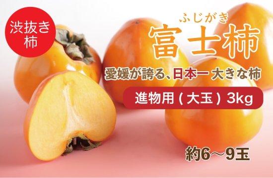 富士柿【進物用(大玉)】3kg 約6~9玉