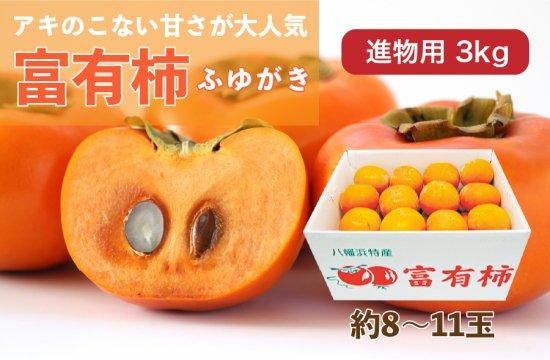 富有柿【進物用】3kg 約8~11玉