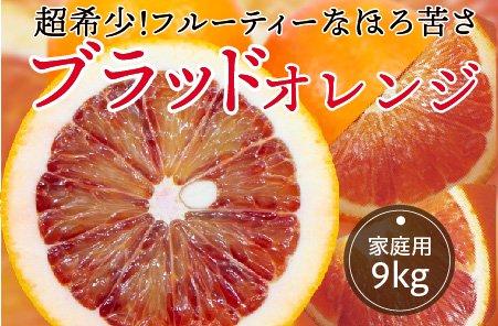 ブラッドオレンジ【家庭用】10kg