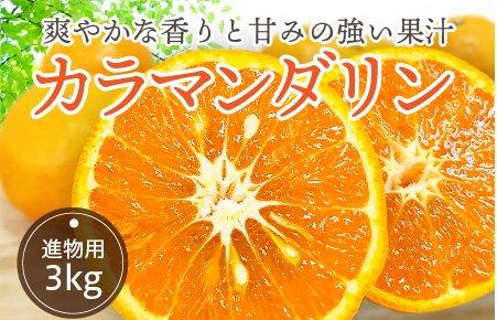 カラマンダリン(なつみ)【進物用】3kg