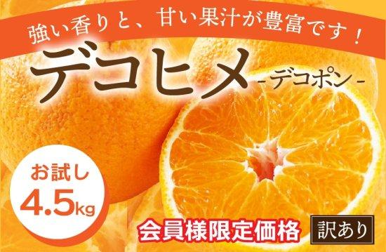 デコヒメ【訳あり・お試し価格】4.5kg