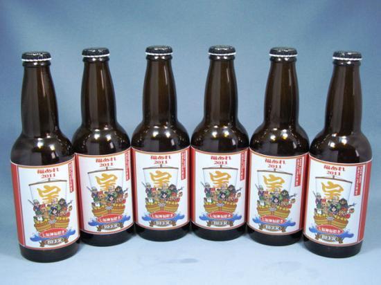 豊穣祈願!福招きビール2013 6本セット