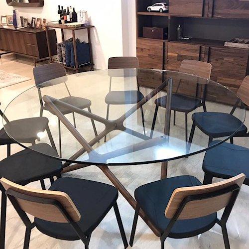 ショーン・ディックス/TripleXDiningTableトリプルエックスダイニングテーブル【Ф150cm】詳細画像1