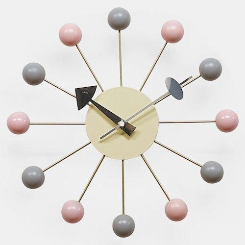 ジョージ・ネルソン/PolygonClockポリゴンクロック【Verichron】メイン画像-デザイナーズ家具通販N PLUS