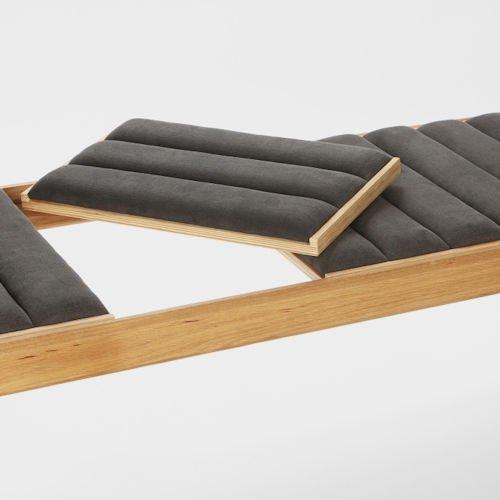 ショーン・ディックス/Reversoレベルソベンチ+コーヒーテーブル【W180cm】詳細画像6