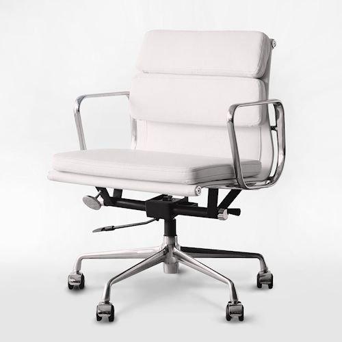 イームズ/アルミナムグループローバックチェア【ソフトパッド・PVC2カラー】メイン画像-デザイナーズ家具通販N PLUS