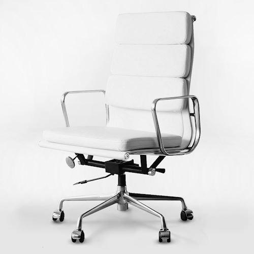 イームズ/アルミナムグループハイバックチェア【ソフトパッド・PVC2カラー】メイン画像-デザイナーズ家具通販N PLUS