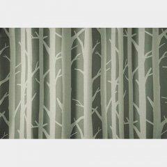 DesignLife/白樺モチーフシックカラーカーテンSHIRAKABAシラカバ【遮光3級】