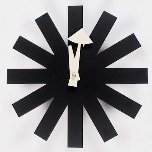 ジョージ・ネルソン/AsteriskClock*アスタリスククロック【ブラック】詳細画像-デザイナーズ家具通販N PLUS
