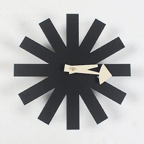 ジョージ・ネルソン/AsteriskClock*アスタリスククロック【ブラック】詳細画像1