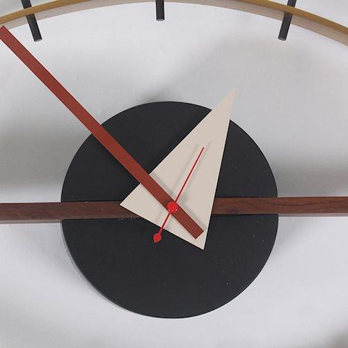 ジョージ・ネルソン/EyeClockアイクロックウォールナット無垢材詳細画像9