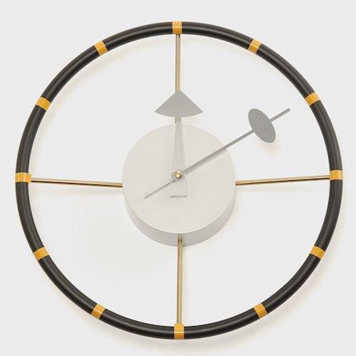 ジョージ・ネルソン/SteeringWheelClockステアリングホイールクロックメイン画像-デザイナーズ家具通販N PLUS