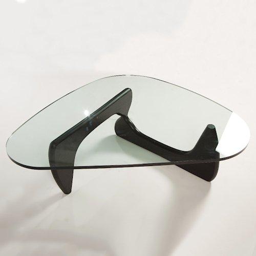 イサム・ノグチ/コーヒーテーブル19mm強化ガラス【スティールライン】詳細画像2