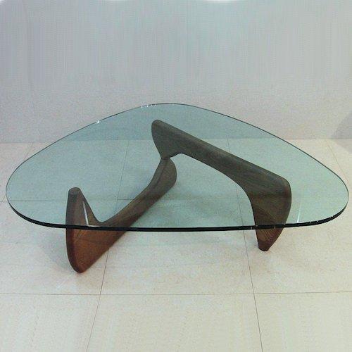 イサム・ノグチ/コーヒーテーブル19mm強化ガラス【スティールライン】詳細画像4