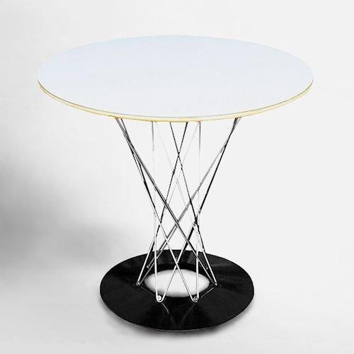 イサム・ノグチ/CycloneTableサイクロンテーブル80Ф【クロームレッグ】メイン画像-デザイナーズ家具通販N PLUS