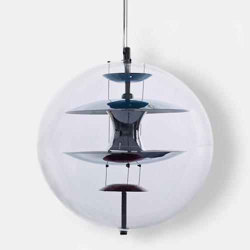 ヴェルナー・パントン/GlobeグローブペンダントランプФ40cmリプロダクトメイン画像-デザイナーズ家具通販N PLUS