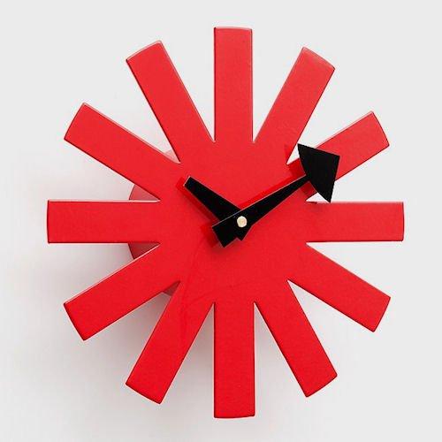 ジョージ・ネルソン/AsteriskClock*アスタリスククロック【追加色レッド】詳細画像1