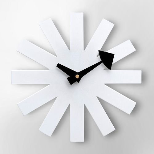 ジョージ・ネルソン/AsteriskClock*アスタリスククロック【追加色ホワイト】詳細画像-デザイナーズ家具通販N PLUS