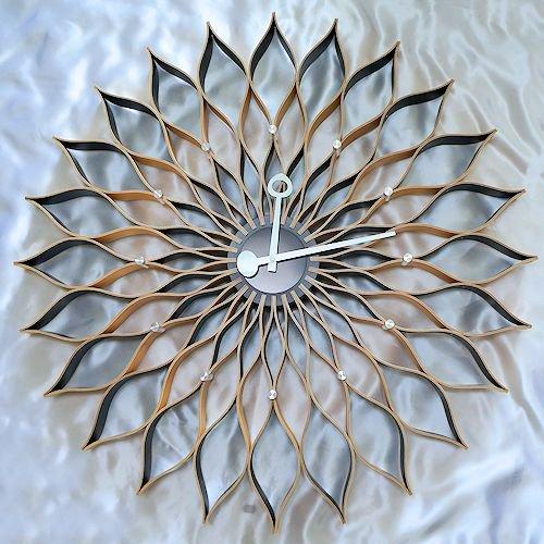 ジョージ・ネルソン/SunflowerClockサンフラワークロック【Verichronビーチ】詳細画像1