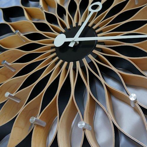 ジョージ・ネルソン/SunflowerClockサンフラワークロック【Verichronビーチ】詳細画像2