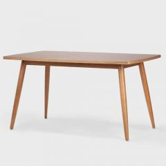 北欧リデザイン/DishTableディッシュダイニングテーブル【プライウッド天板】