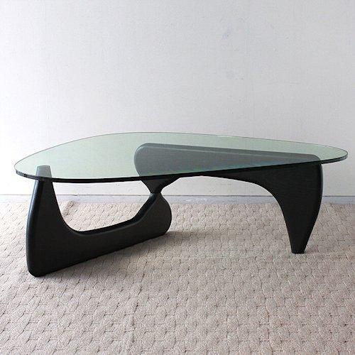 イサム・ノグチ/コーヒーテーブルタイプM【19mm強化ガラス×アッシュ材3カラー】詳細画像3