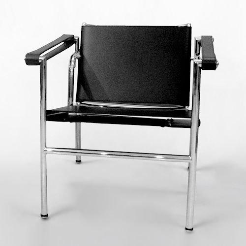 ル・コルビジェ/LC1スリングチェアSlingChair【スティールライン】メイン画像-デザイナーズ家具通販N PLUS