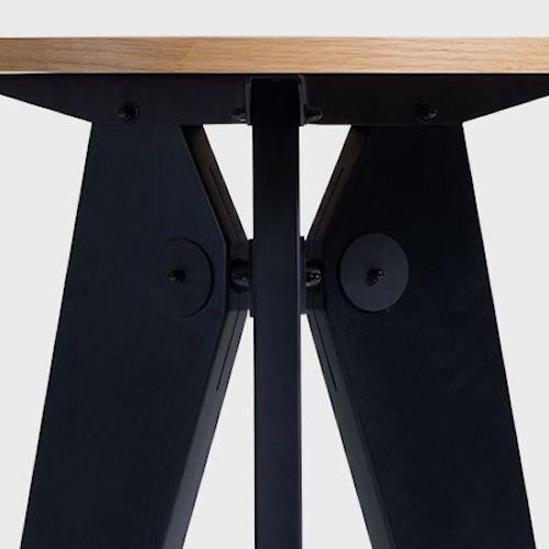 ジャン・プルーヴェリデザイン/Gueridonゲリドンハイテーブル【H105cm】詳細画像1