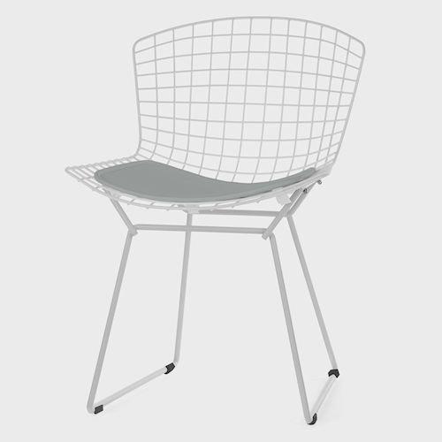 ハリー・ベルトイア/WireChairワイヤーチェア【カラーフレーム×シートパッド】メイン画像-デザイナーズ家具通販N PLUS