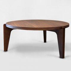 ジャン・プルーヴェ/コーヒーテーブルGueridonBasゲリドンバス【Ф80cm】-デザイナーズ家具通販N PLUS