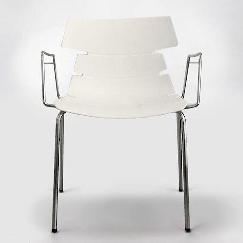 クラウディオ・ベリーニ/CBフィッシュボーンチェア603Bアーム仕様メイン画像-デザイナーズ家具通販N PLUS