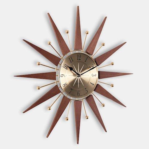 ジョージ・ネルソン/EyeClockアイクロック【Verichron製】メイン画像-デザイナーズ家具通販N PLUS