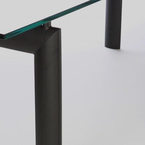 ル・コルビジェ/LC6ダイニングテーブル【W225cm・15mm強化ガラス】詳細画像10