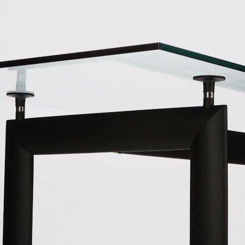 ル・コルビジェ/LC6ダイニングテーブル【W225cm・15mm強化ガラス】詳細画像8