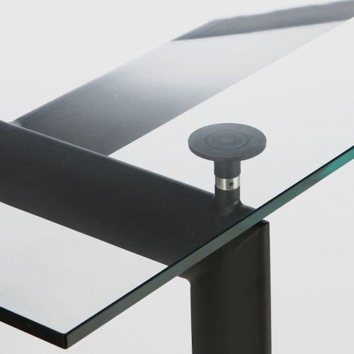 ル・コルビジェ/LC6ダイニングテーブル【W225cm・15mm強化ガラス】詳細画像9