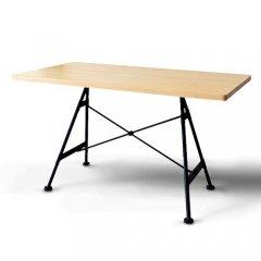 GARTガルト/北欧デザイン無垢天板Yngユングダイニングテーブル【W120cm・2素材】