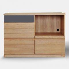 デザイナーズスタイル/オールドウッドカフェテーブル【60×60cmホワイト】
