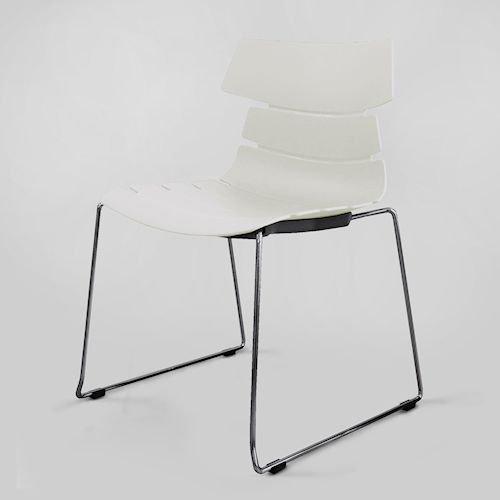 クラウディオ・ベリーニ/CBフィッシュボーンチェア605スタッキングベース仕様メイン画像-デザイナーズ家具通販N PLUS
