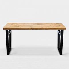 デザイナーズスタイル/オークユーズド加工ダイニングテーブルNo.03【2サイズ2カラー】