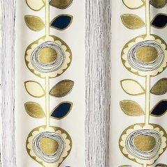 DesignLife/ひまわりモチーフ遮光カーテンSunFlowerサンフラワー